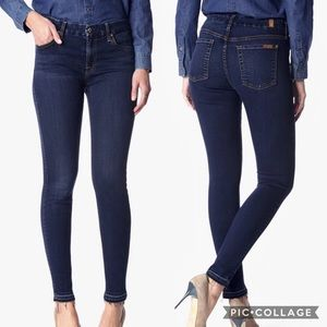 7 for all mankind | the ankle skinny (b)air 949